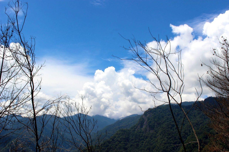 司馬庫斯部落觀景台遠景也很美