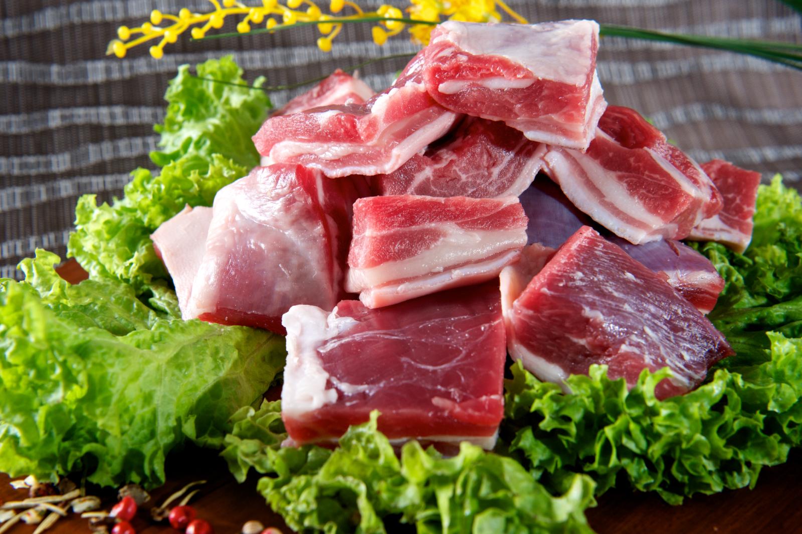 ▲ 羊肉的羊羶味源自於羊皮脂腺的分泌物,肌肉的部分離皮脂腺較遠