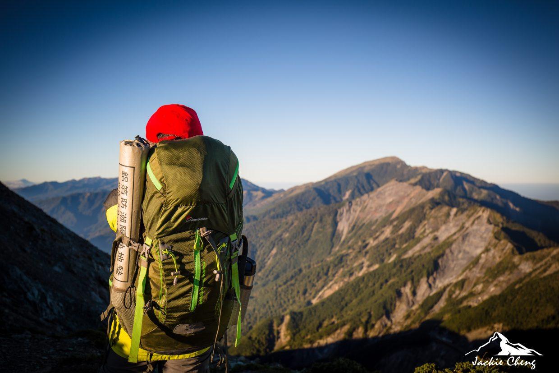 給自己來個四天三夜的登山行,在山上放空自我