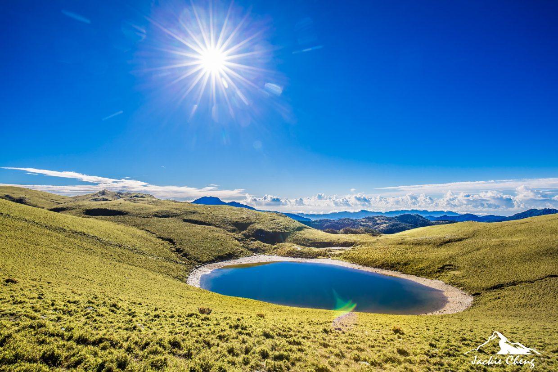 各種不同角度的嘉明湖(一)