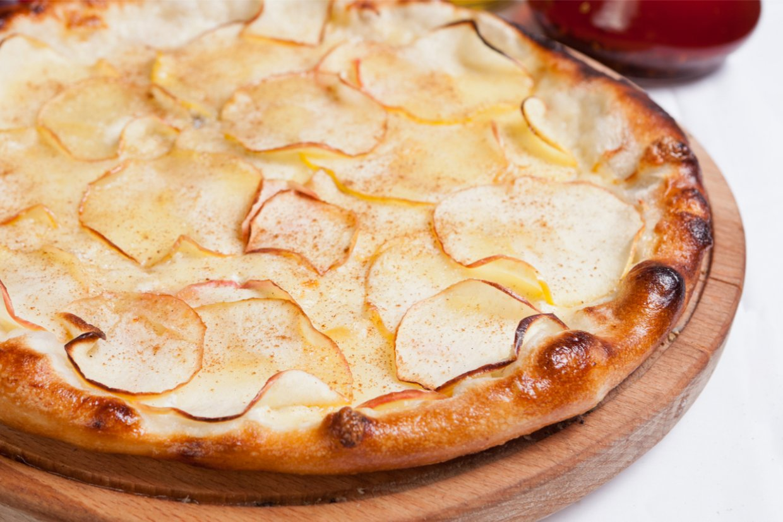 蘋果pizza。