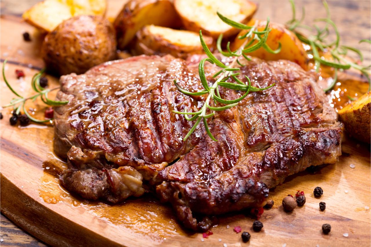 肉是很好的蛋白質來源。