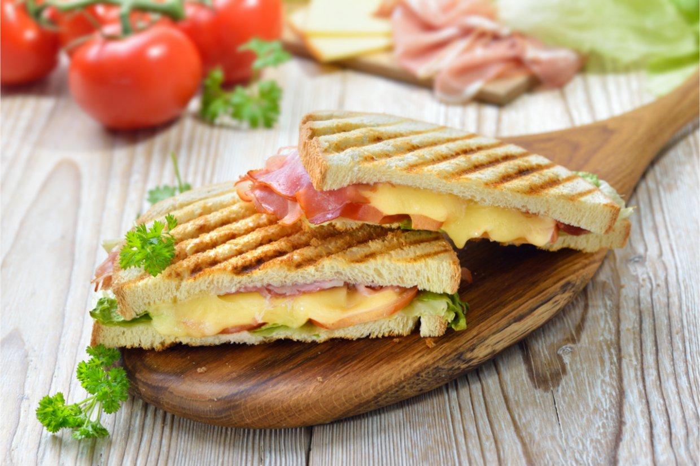 起司與三明治就是絕配!