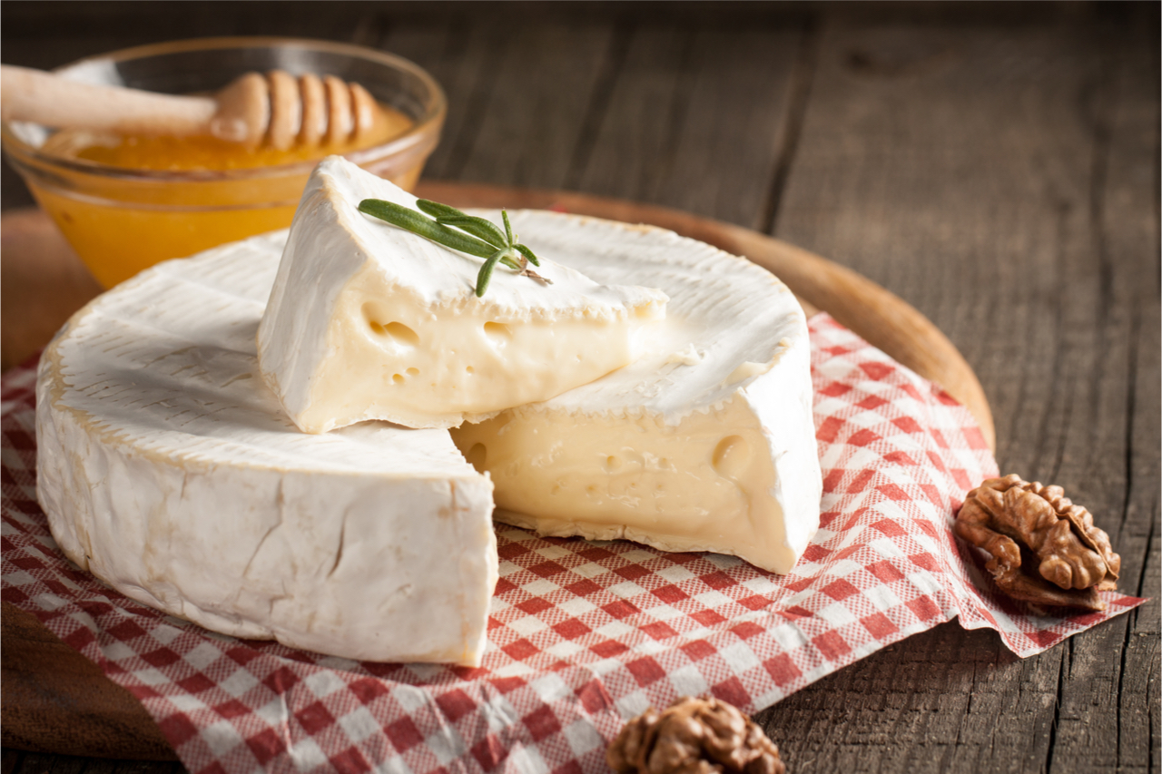 美美的Brie Cheese。