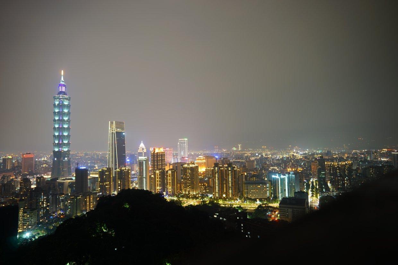 大台北象山夜景