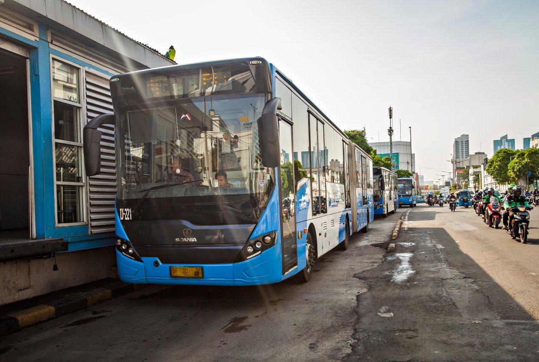 雅加達市區公車Trans jakarta