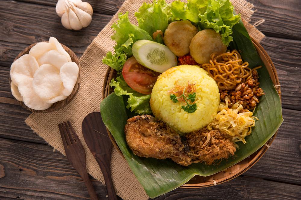薑黃飯Nasi Kuning