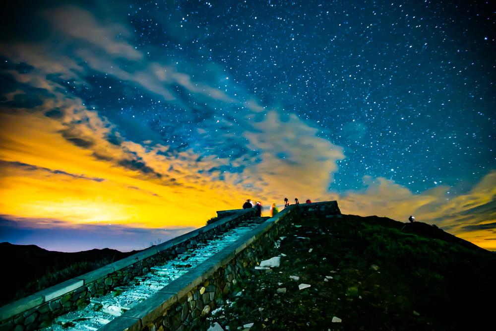 合歡山第一主峰觀景台攝影點