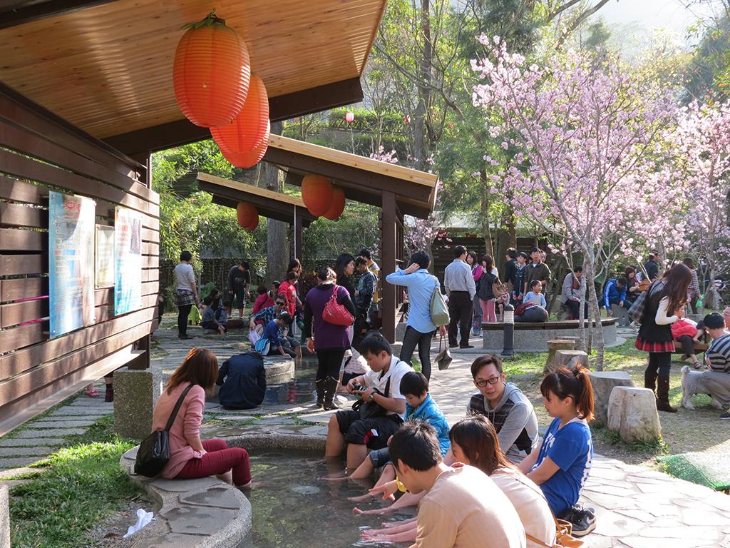 台中谷關溫泉公園