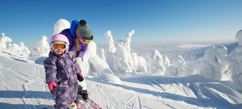 芬蘭利維滑雪場