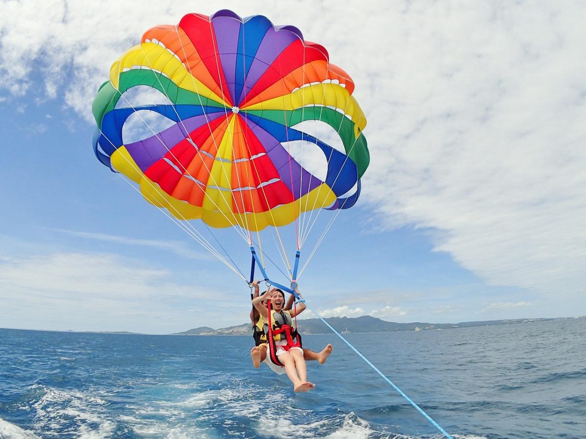 海上拖曳傘