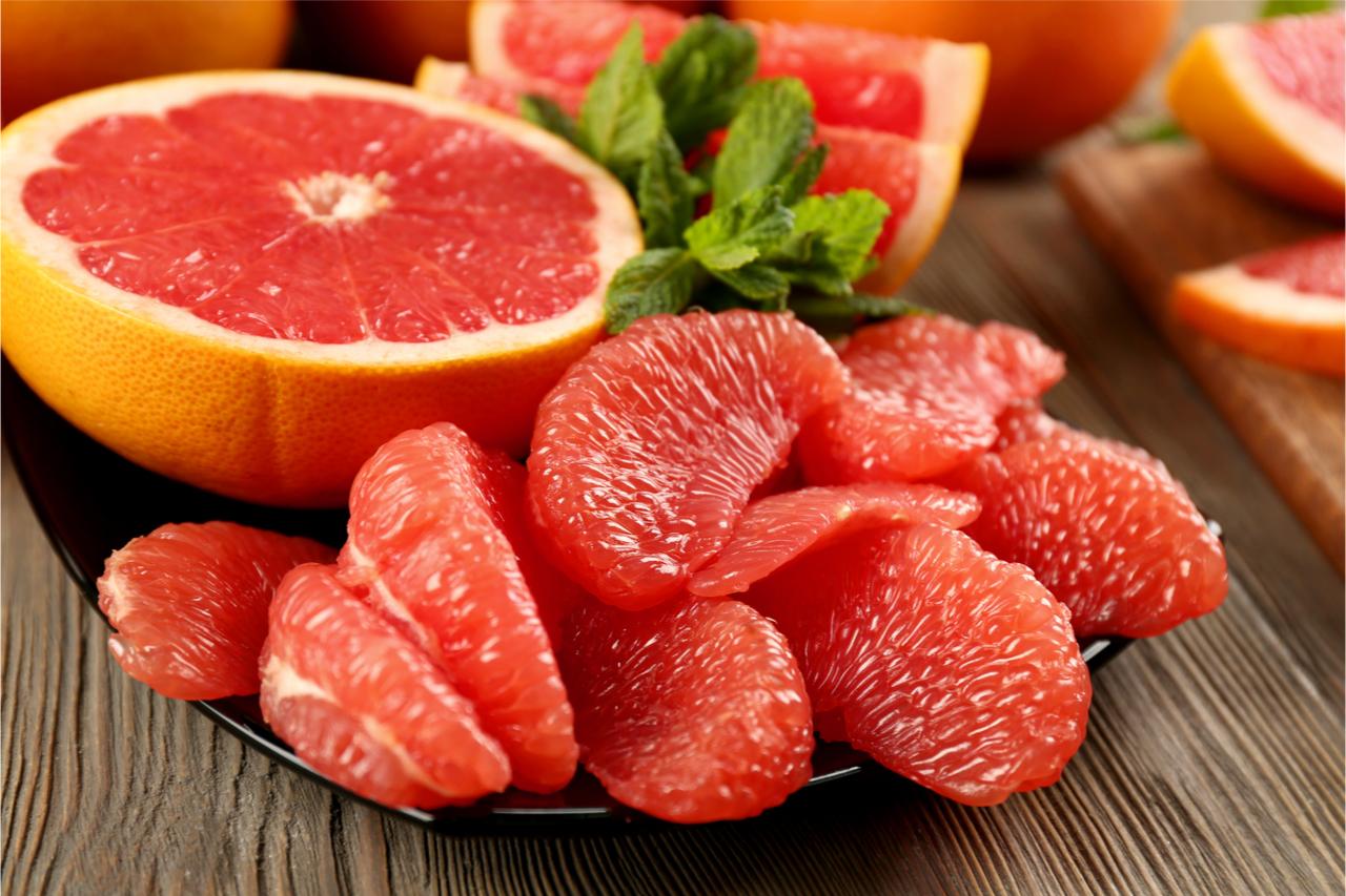 吃葡萄柚,好處多多!