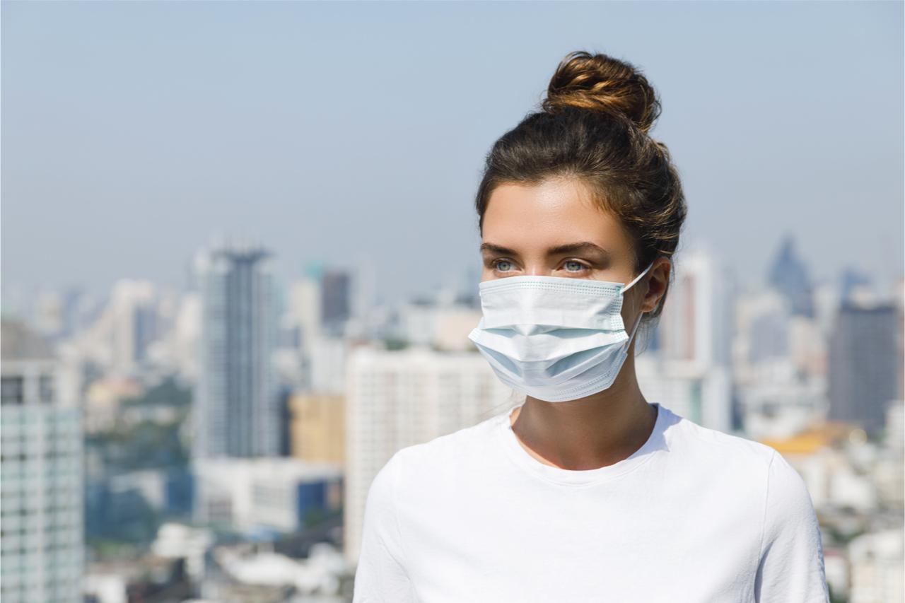 防疫期間,口罩很重要。