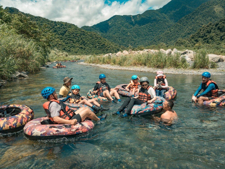 宜蘭那山那谷漂漂河探險