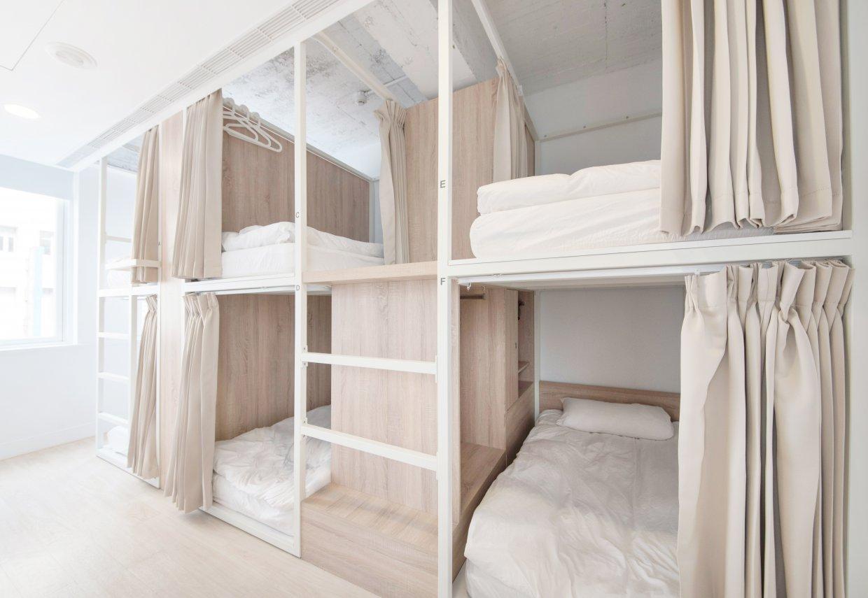 上下床位設計,但沒有絲毫壓迫感。