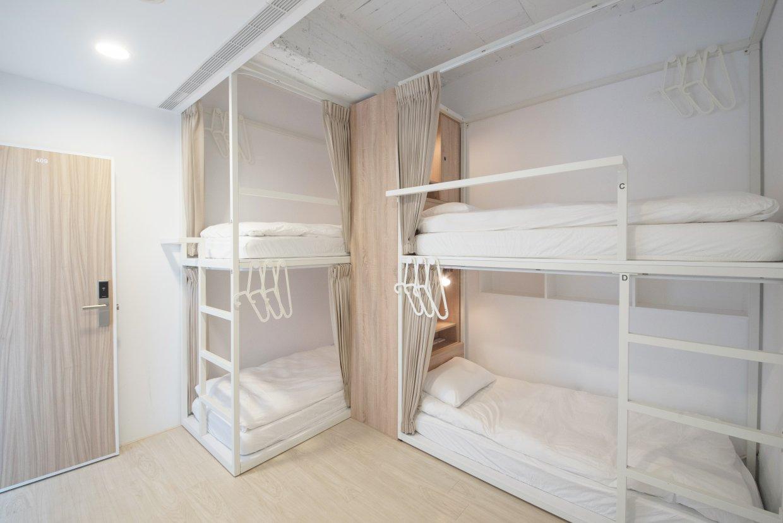 夾腳拖的家-長安122 四人混合宿舍房