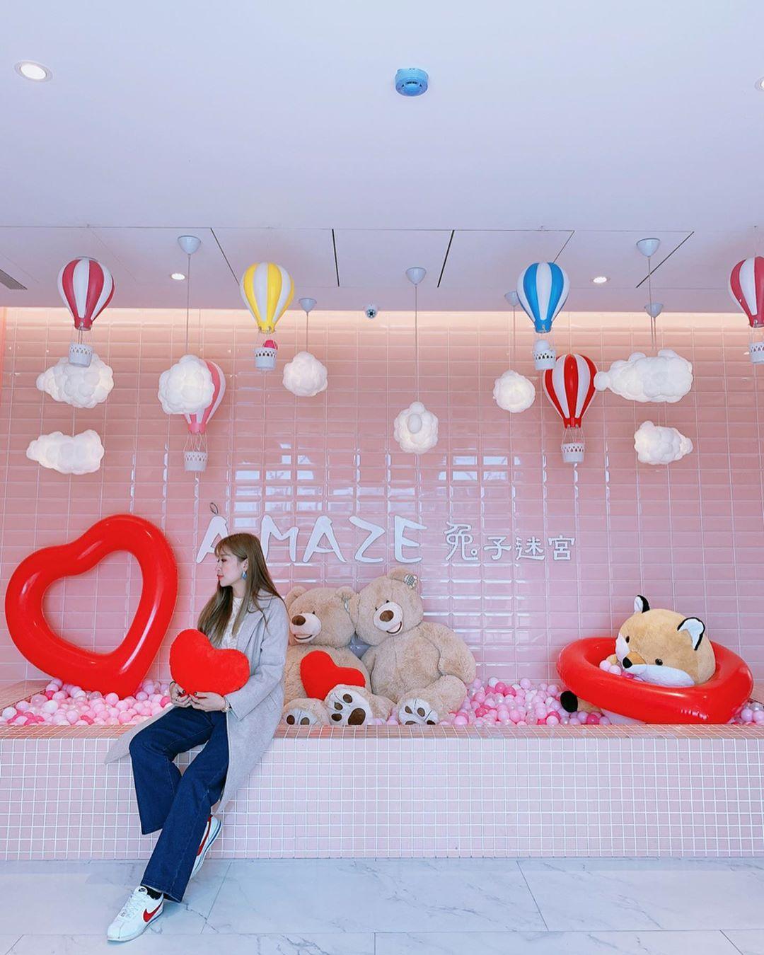 A Maze兔子迷宮 礁溪浴場@yuna Xiao 0803