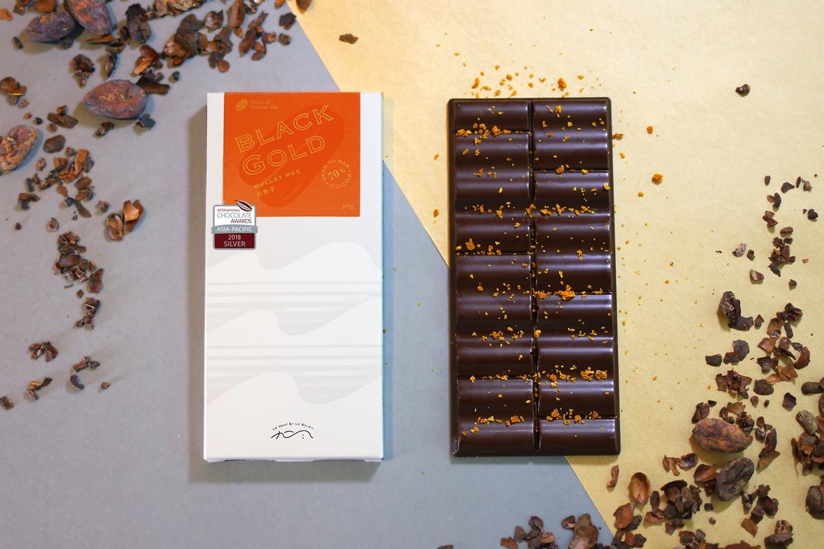 【圖十一】《九日風》2018 ICA 得獎巧克力禮盒-烏魚子
