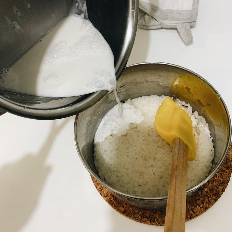 芒果糯米飯作法大公開