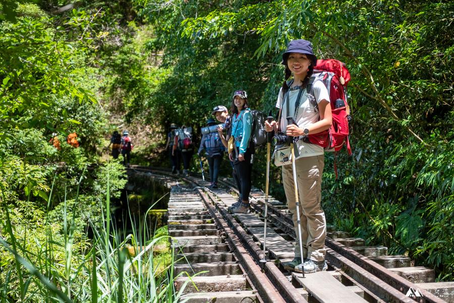 【嘉義阿里山】新阿溪縱走三天兩夜登山紀錄:眠月線與水漾森林