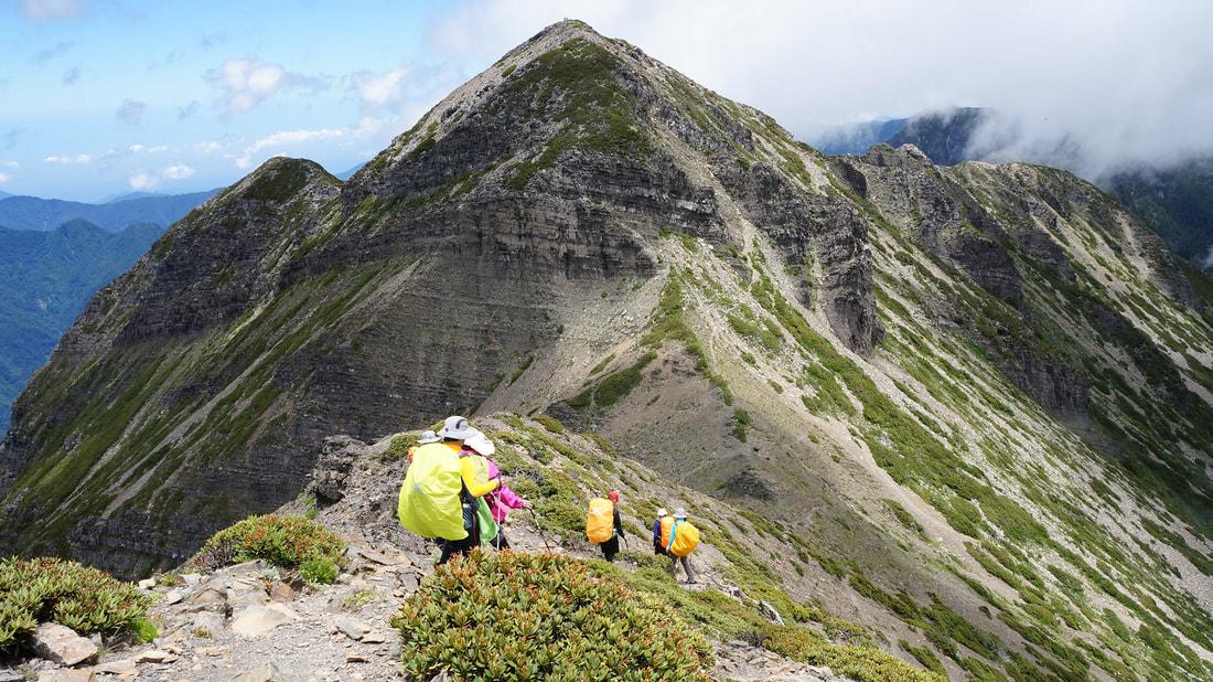 【圖十一】奧丁丁體驗秋季山林路線推薦TOP3- 雪山主東峰