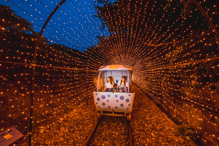 【新北一日遊】深澳RailBike-星光夜騎鐵道遊!
