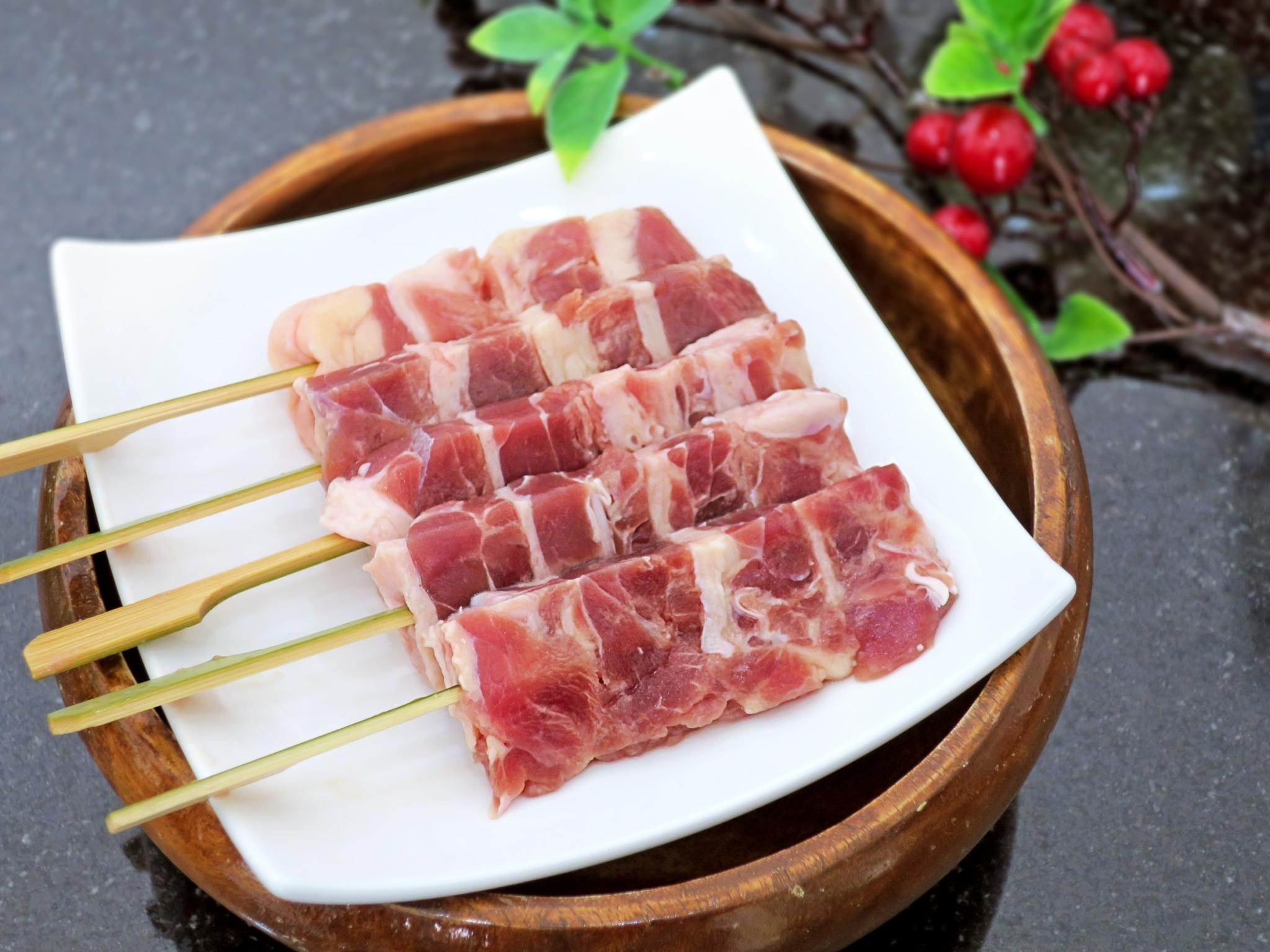【圖一】奧丁丁市集推薦烤物-《有心肉舖子》櫻桃鴨肉串 1