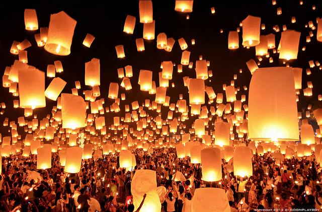 泰國5大節日|泰國水燈節、大城遺產節 原來泰國一年四季都好玩