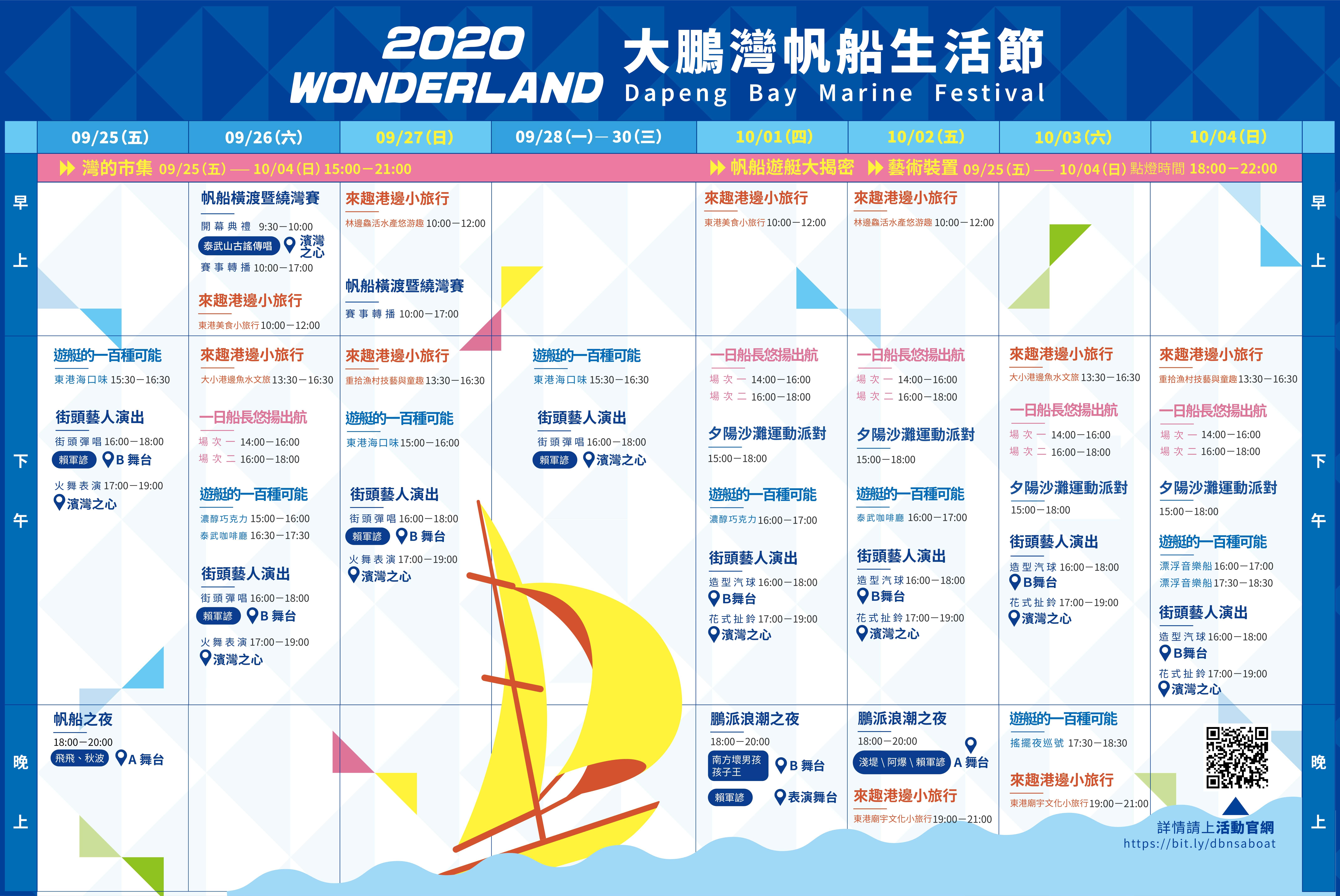 2020大鵬灣帆船生活節攻略| 9/25~10/4熱鬧登場 連假來去屏東