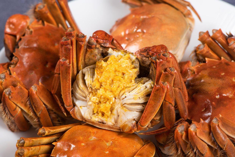 吃螃蟹小技巧