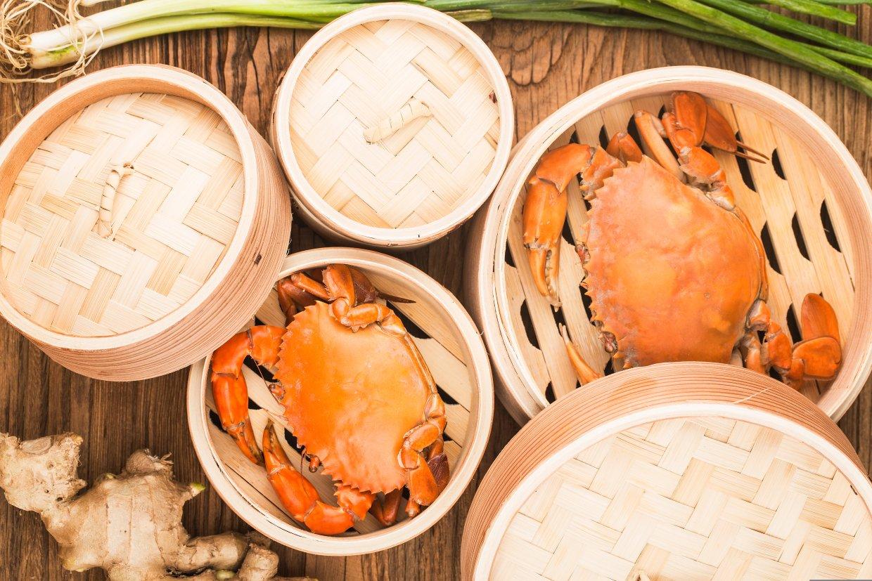 清蒸螃蟹才好吃