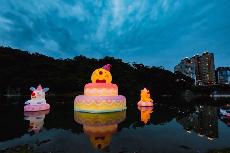 15米高「幾米月亮」來了!2020碧潭地景藝術節火熱登場