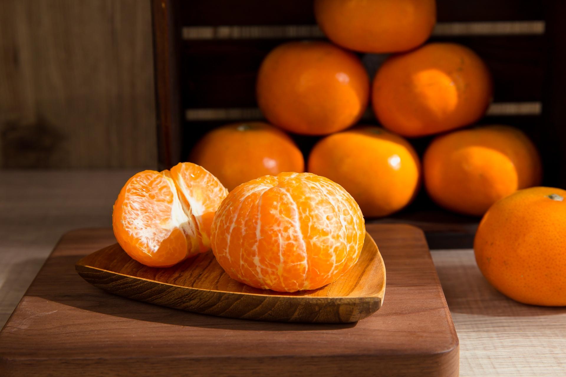 茂谷柑外型討喜,是台灣過年必備的橘子品種