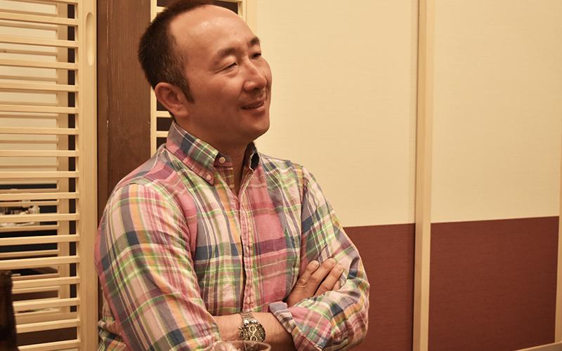 二風谷ファーム専務 稲原稔久