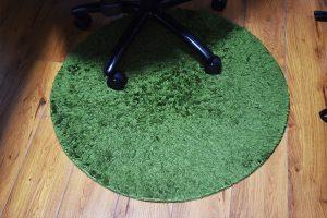 芝生をイメージしたラグ
