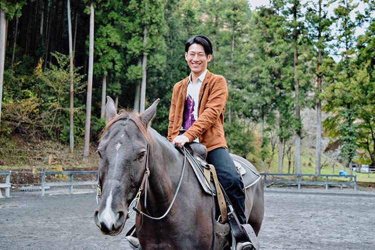 乗馬インストラクター 仁平拓