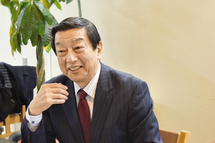 染谷昇社長。とってもフランクにお話をしてくださいました