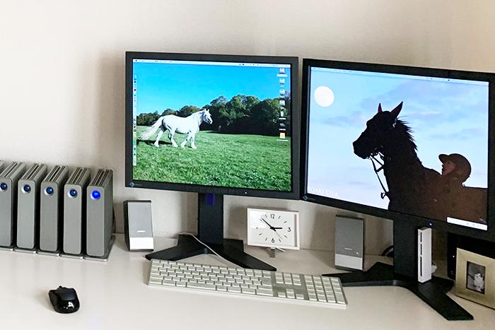 デスクトップの写真