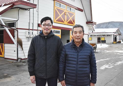 (左)取締役・鎌田正信さん(右)代表取締役・鎌田信一さん