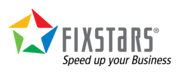 Fixstars logo print tagline