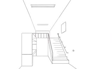 家の中のイラスト