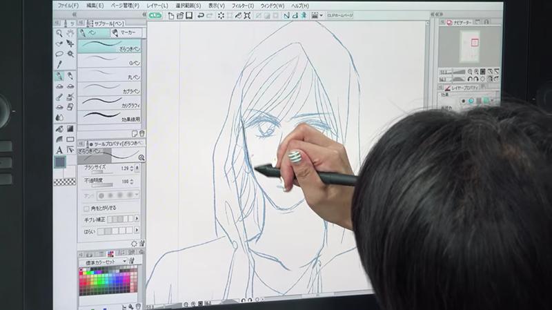 デジタルでマンガを描く