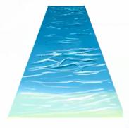波の影を描く