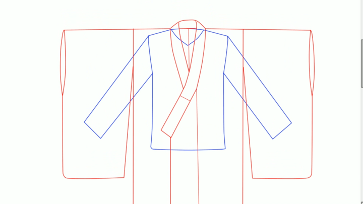 洋服と和服の比較