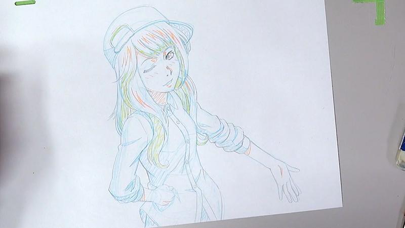 アニメーターのHINOEさんのイラスト