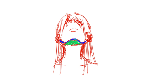 アオリの顔の形