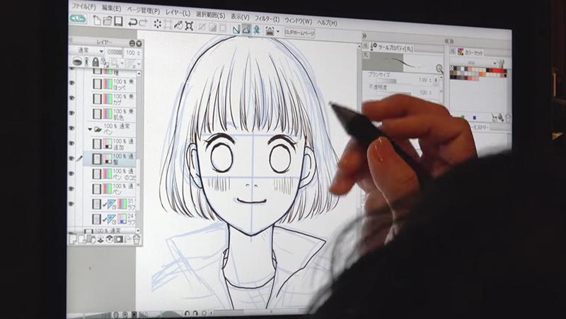 小沢かな先生のデジタル原稿