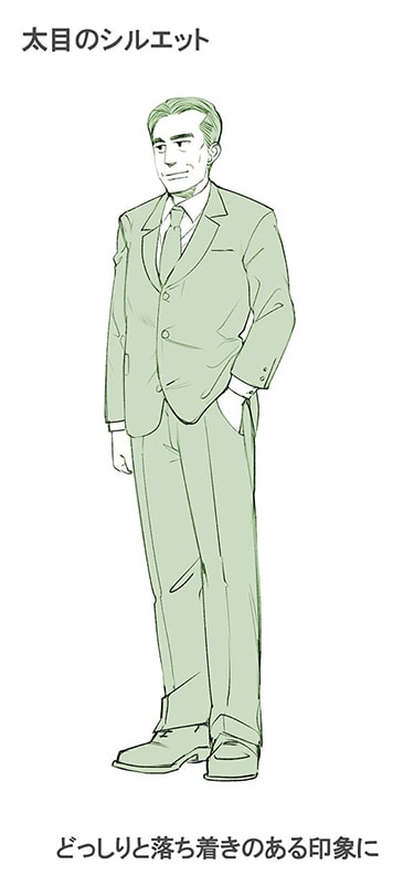 魅力的でかっこいいおじさんの描き方講座お絵かき講座パルミー