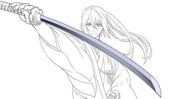 日本刀の塗り2