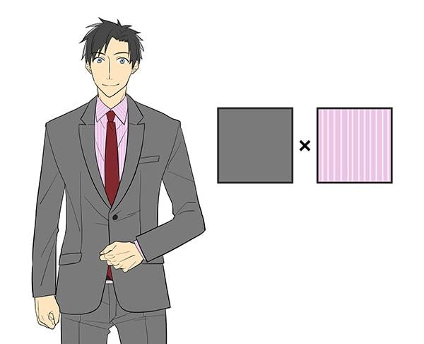 かっこいいスーツ姿を描く スーツ男子の描き方講座 お絵かき講座パルミー